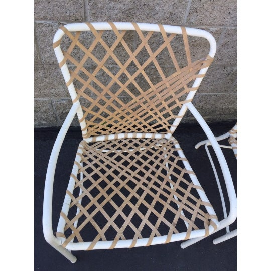 Modern Vintage Brown Jordan Sculptural Tamiami Patio Chairs - a Pair For Sale - Image 3 of 8