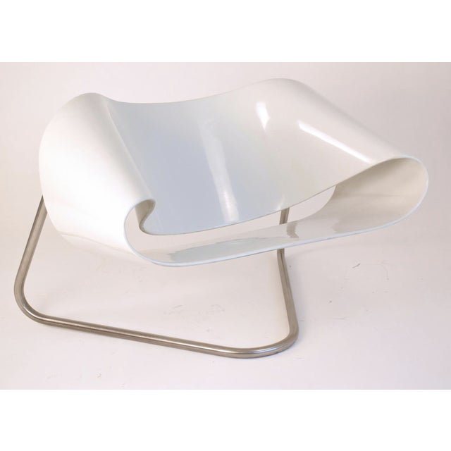 1960s Vintage Cesare Leonardi/Franca Stagi Ribbon Chair For Sale - Image 9 of 9