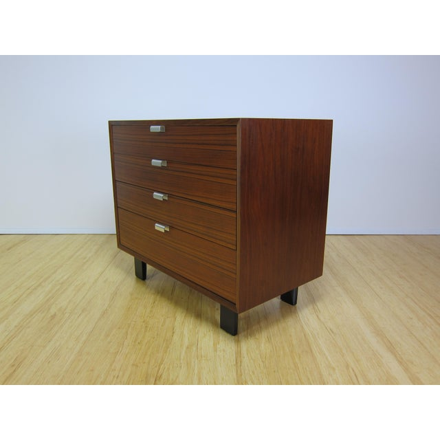 1950s George Nelson for Herman Miller Walnut Dresser For Sale - Image 13 of 13