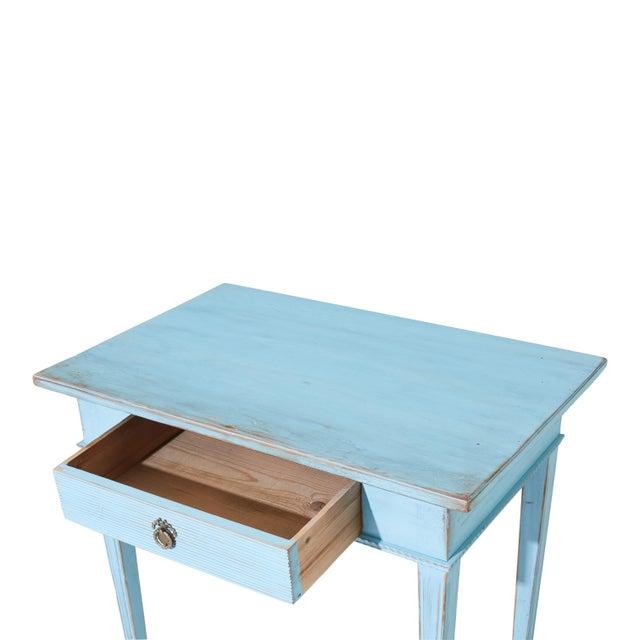 Antique Gustavian Writing Desk For Sale - Image 4 of 6