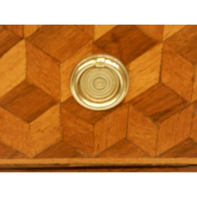 19th Century Italian 19th C Parquet Commode For Sale - Image 5 of 8