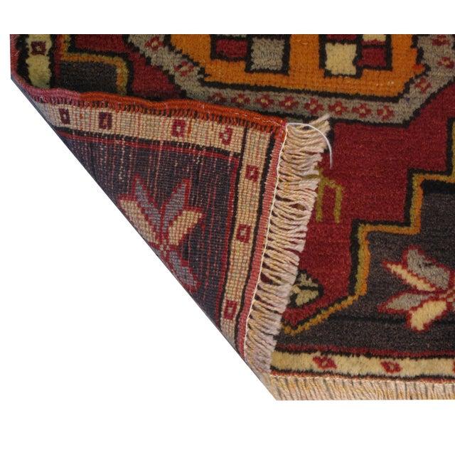 Boho Chic Vintage Turkish Rug - 1′6″ × 2′10″ For Sale - Image 3 of 6