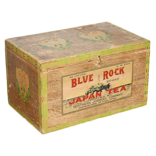 Blue Rock Japan Tea Box For Sale