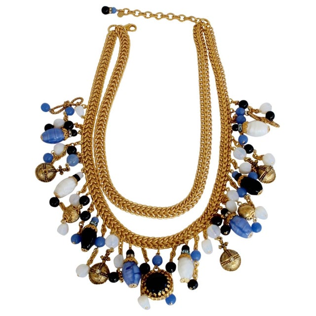 Contemporary Francoise Montague Replique Charm Necklace For Sale - Image 3 of 3