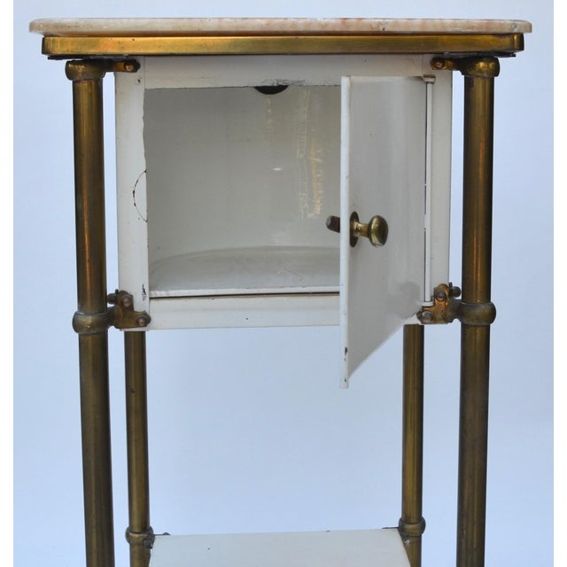 Antique Medical Cabinet Rolling Cart For Sale In Los Angeles - Image 6 of 10