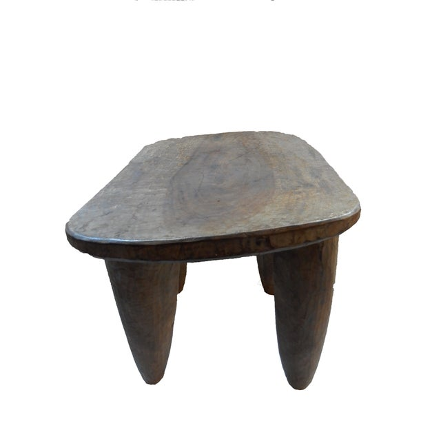 African Senufo Wood Stool - Image 3 of 6