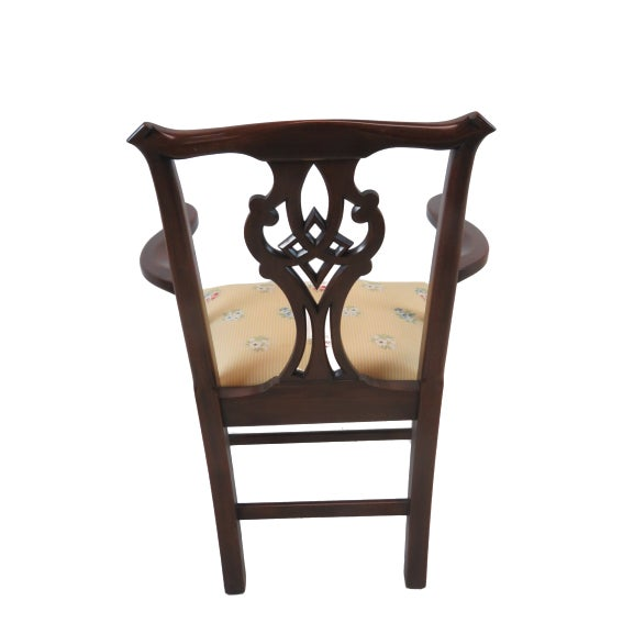 Henkel Harris Chippendale Dining Mahogany Chairs Model 101 - Set of 6 For Sale In New York - Image 6 of 13
