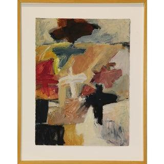 Takeshi Nakayoshi Original Signed Abstract Painting For Sale