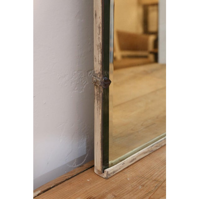 Asymmetrically-Shaped Art Nouveau Mirror For Sale - Image 9 of 10