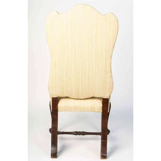 19th Century Vintage Walnut Italian Side Chairs- A Pair For Sale In Nashville - Image 6 of 9