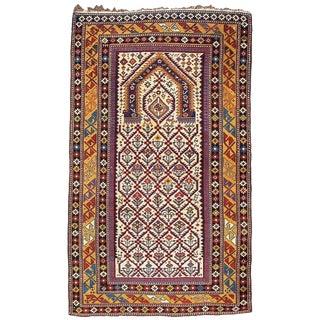 Elegant Shirvan Prayer Rug For Sale