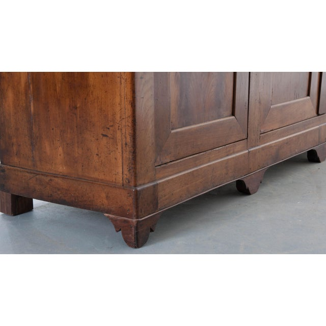 French Late 19th Century Walnut Louis Philippe Enfilade - Image 7 of 10