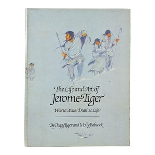 'The Life & Art of Jerome Tiger' Book For Sale
