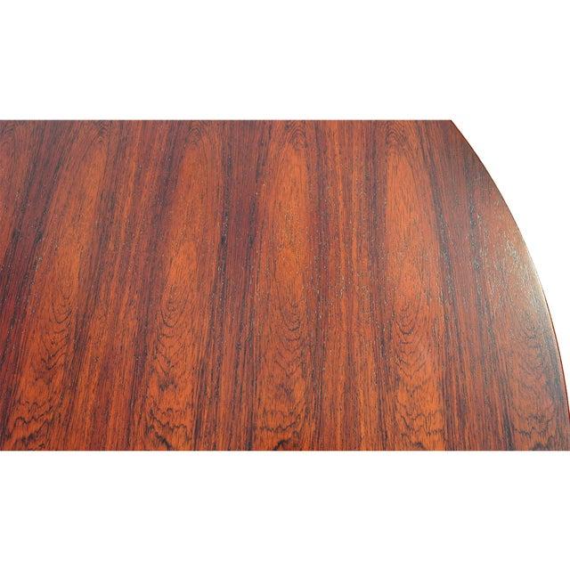 Orange Edward Wormley for Dunbar Rosewood Conference Set For Sale - Image 8 of 13