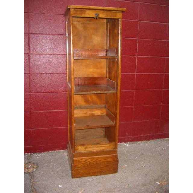 Italian Italian 40s Shelving Unit For Sale - Image 3 of 6