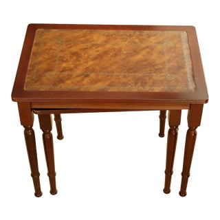Mid-Century Modern Walnut Side Tables - Set of 2 For Sale