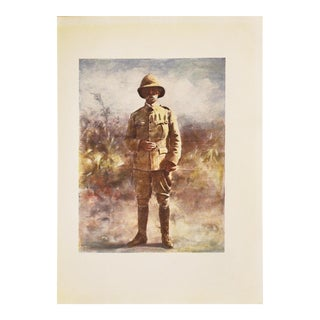 M. Menpes 1901 Lord Roberts Lithograph