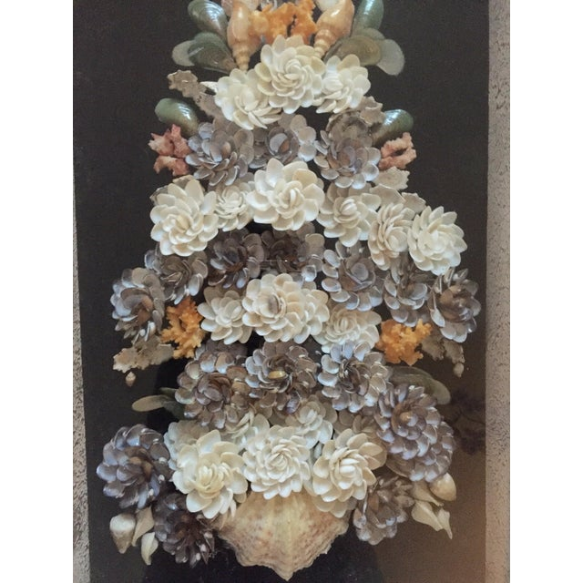 Shell Floral Wall Art - Image 4 of 6