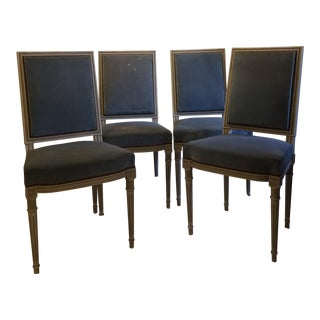 Louis XVI Style Painted Chairs - Set of 4