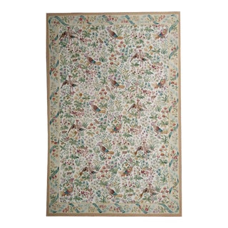 """Pasargad Aubusson Hand-Woven Wool Rug - 10' 2"""" X 14' 2"""""""