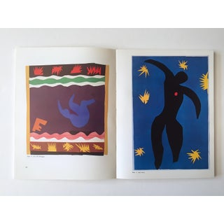 """ the Cut Outs of Henri Matisse "" Rare Vintage 1978 1st Edition Collector's Lithograph Print Modern Art Book Preview"