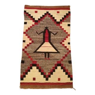 Navajo Native American Rug Textile For Sale