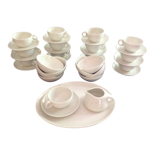 Russell Wright Everyday China - Set of 34 - Image 1 of 6
