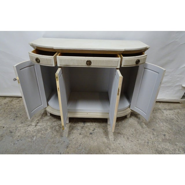 Contemporary Swedish Gustavian Sideboard For Sale - Image 3 of 6
