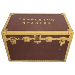 """Stable Tack Box From the """"Templeton Estate"""" For Sale"""
