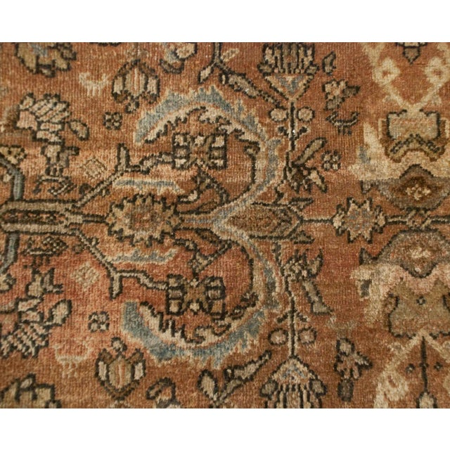 "Islamic Early 20th Century Mahal Sultanabad Rug - 144"" x 208"" For Sale - Image 3 of 5"