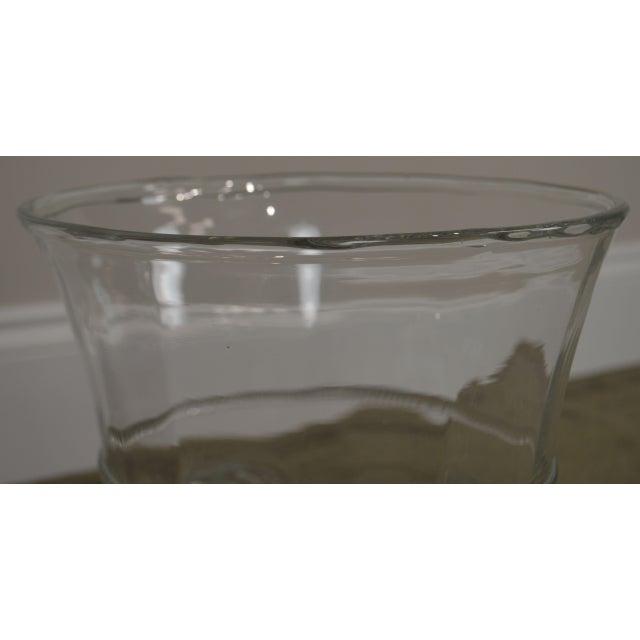 Abigails Czech Republic Lion Head Glass Ice Bucket For Sale - Image 9 of 13