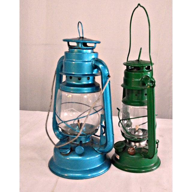 Winged Wheel Railroad Hanging Lanterns - A Pair - Image 5 of 7