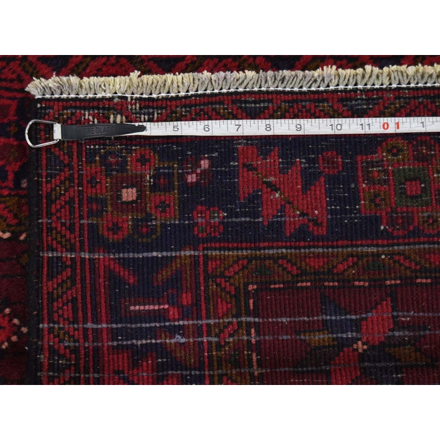 2010s Northwest Persian Heriz Wool Hand-Knotted Runner- 3′10″ × 11′6″ For Sale - Image 5 of 8