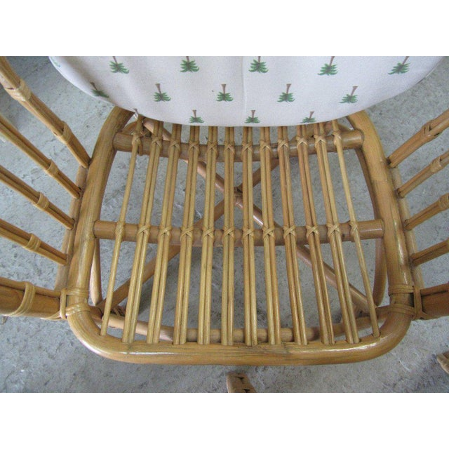 Island Style Rattan Chairs - A Pair - Image 4 of 7