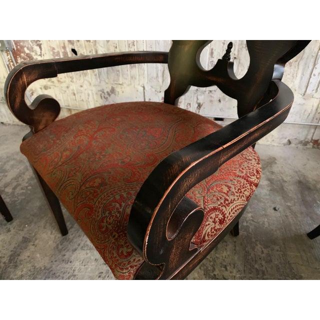 "Set of Six Arhaus ""Jordan"" Dining Chairs For Sale - Image 9 of 13"