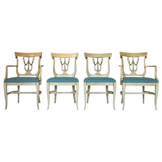 Neoclassical Dining Chairs S/4