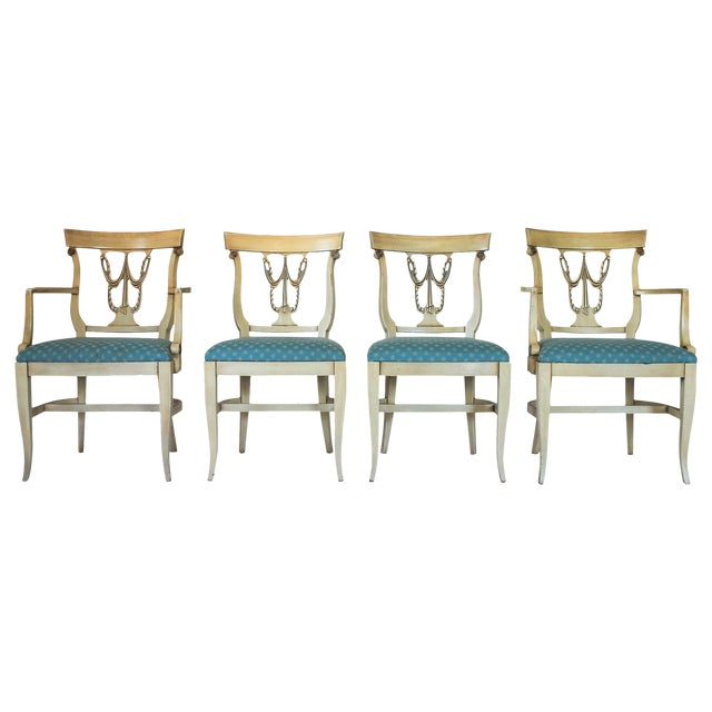 Neoclassical Dining Chairs S/4 - Image 1 of 10