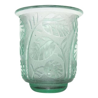 Daum Nancy Art Deco Vase For Sale