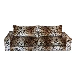 Thayer Coggin Silk Velvet Sofa
