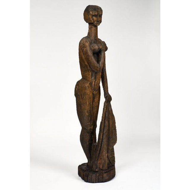 1960s Life Size Statue of Annabel Buffet For Sale - Image 5 of 11