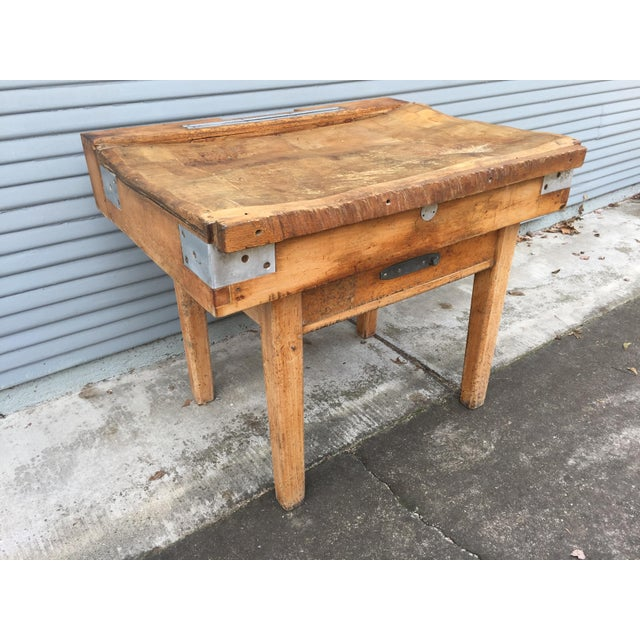 Antique French Butcher's Shop Block - Image 5 of 5