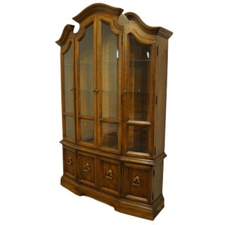Drexel Heritage Italian Provincial Walnut China Cabinet Preview