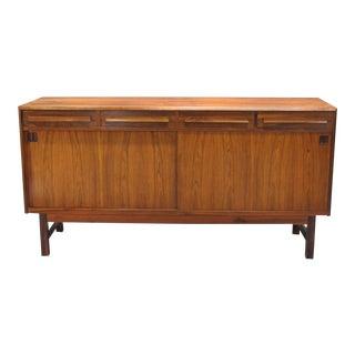 Danish Modern Rosewood Sideboard by Bordum Og Nielsen For Sale