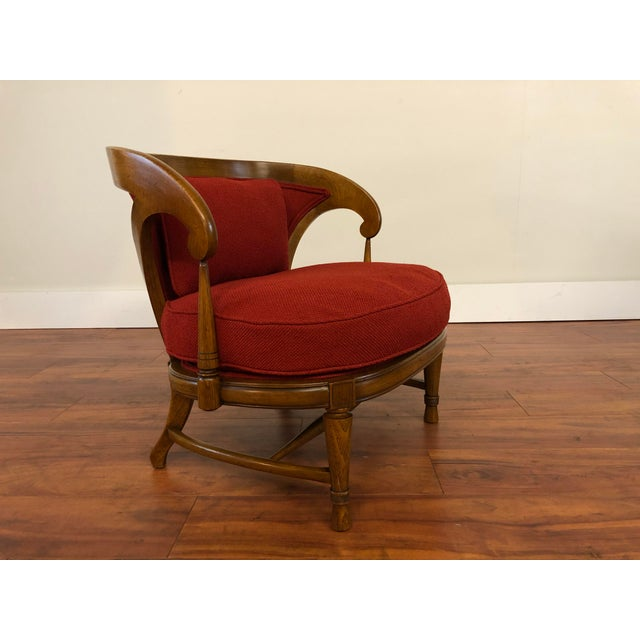 Tomlinson Tomlinson Sophisticate Vintage Occasional Chair For Sale - Image 4 of 13