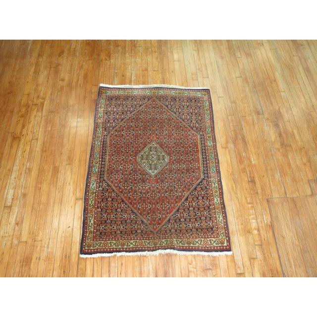 Vintage Persian Bidjar Rug - 3'9'' x 5'7'' For Sale - Image 4 of 6
