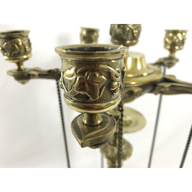 Charles X Bronze Candelabra a Pair For Sale - Image 10 of 11