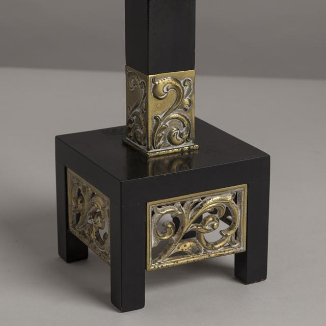 Mid-Century Modern Pair of Rembrandt Classical Inspired Table Lamps, 1950s For Sale - Image 3 of 4