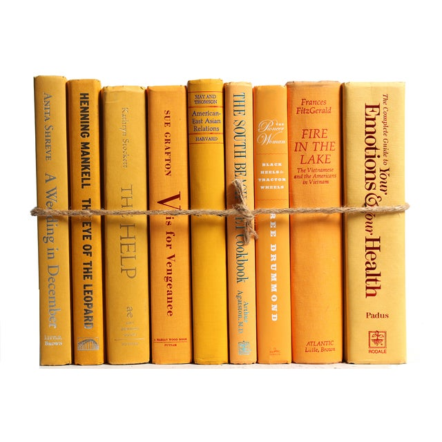 Modern Yellow ColorPak Of Books - Image 3 of 3