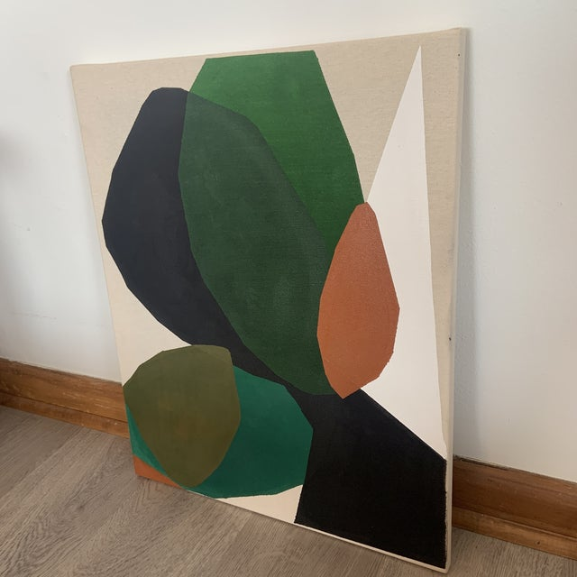 Contemporary Modern Abstract Acrylic Painting by Ross Severson For Sale - Image 4 of 7