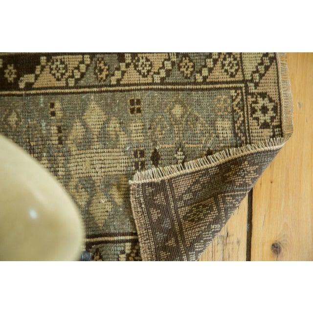 Vintage Oushak Square Rug Mat - 1′8″ × 2′ For Sale - Image 4 of 4